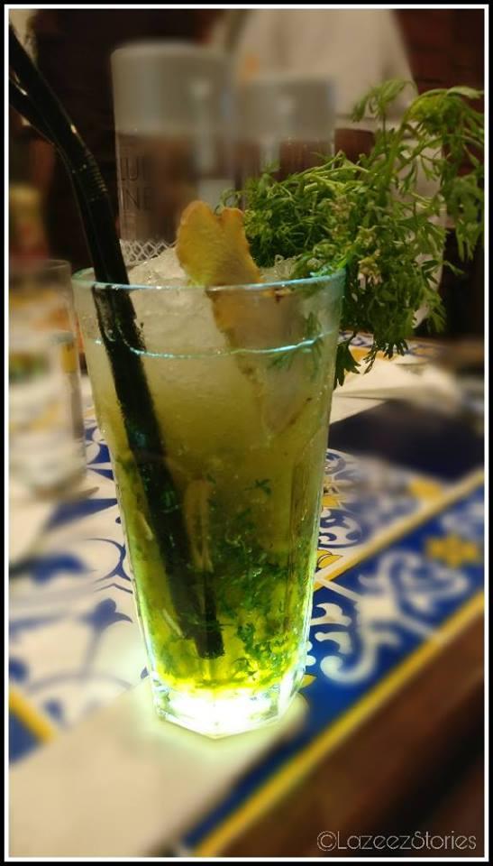 coriander drink