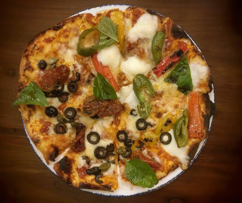pizza bbq